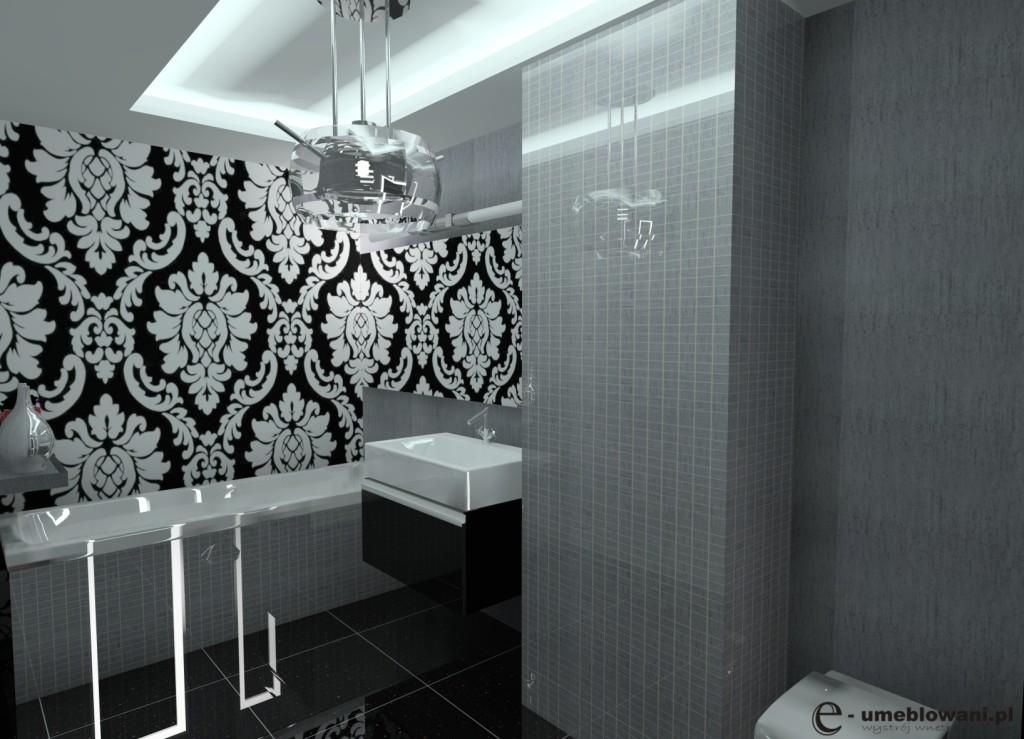 Inspiracje Sypialnia Glamour
