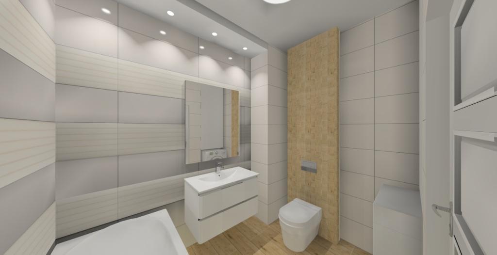 łazienka W Bieli I Drewnie Projektowanie I Aranżacja Wnętrz